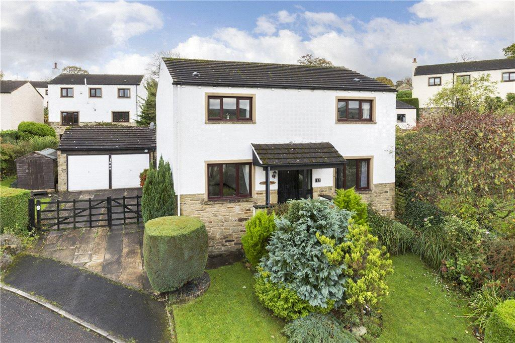 4 Bedrooms Detached House for sale in Greenhow Park, Burley in Wharfedale, Ilkley, West Yorkshire