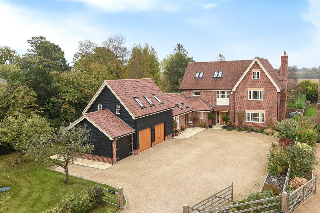 5 Bedrooms Detached House for sale in Church Road, Beyton, Bury St. Edmunds, Suffolk, IP30