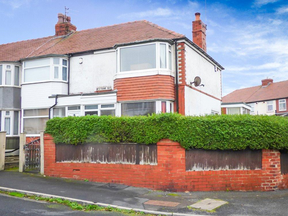 3 Bedrooms End Of Terrace House for sale in West Bank Avenue, Marton, Blackpool