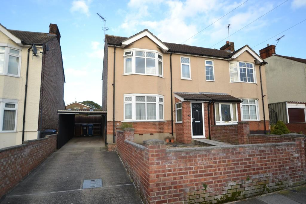 3 Bedrooms Semi Detached House for sale in Westholme Road, Ipswich, IP1 4HQ
