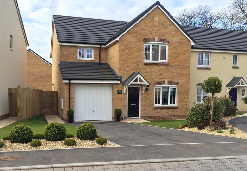 4 Bedrooms Detached House for sale in Gatehouse View, Pembroke