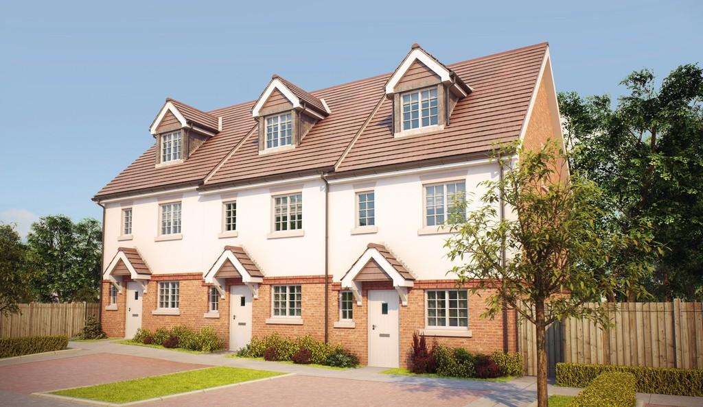 4 Bedrooms End Of Terrace House for sale in Knaphill, Woking
