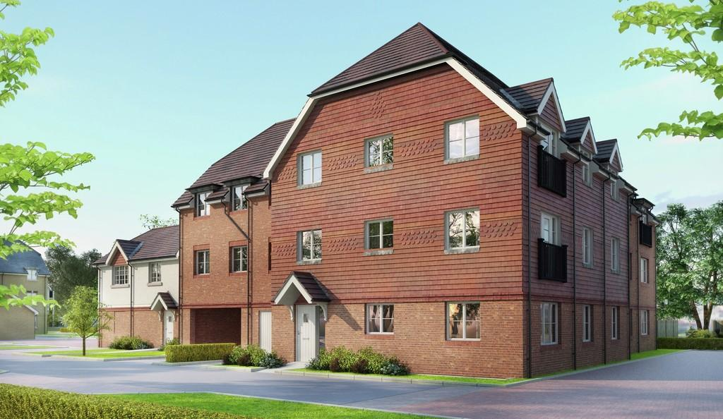 2 Bedrooms Apartment Flat for sale in Bagshot Road, Knaphill