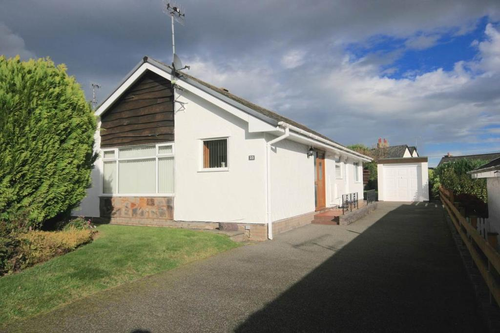 2 Bedrooms Detached Bungalow for sale in 23 Maes Rhun, Ty n y groes, LL32 8PA