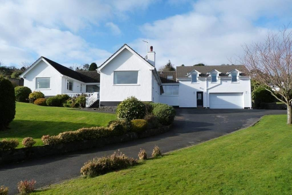 5 Bedrooms Detached House for sale in Shirrah-Ny-Ree, Ballajora Hill, Maughold, IM7 1AZ