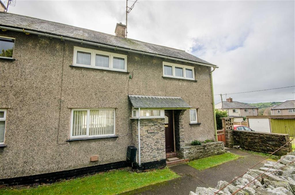 2 Bedrooms Semi Detached House for sale in Maes Hyfryd, Cynwyd, Corwen