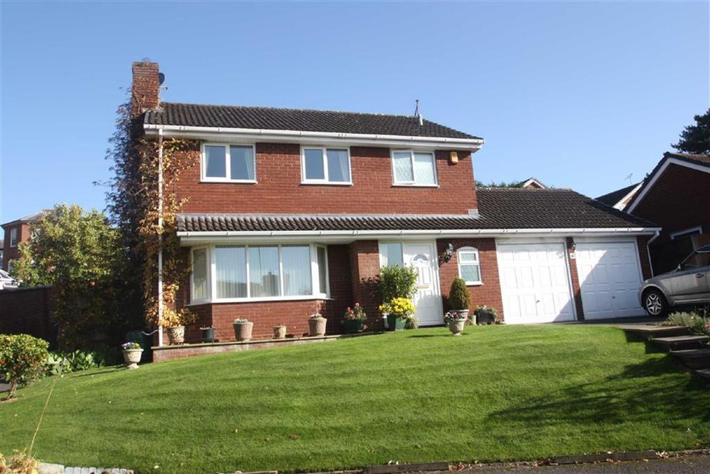 4 Bedrooms Detached House for sale in Kenton Drive, Shrewsbury