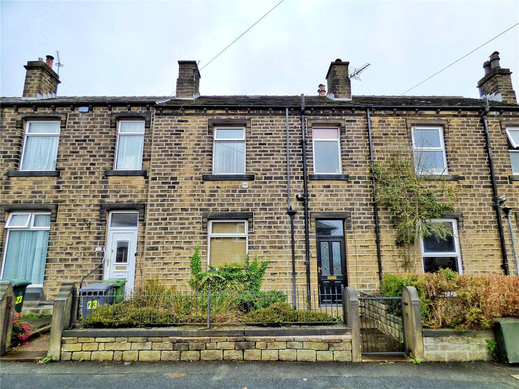 3 Bedrooms Terraced House for sale in Raw Nook Road, Salendine Nook, Huddersfield, West Yorkshire, HD3