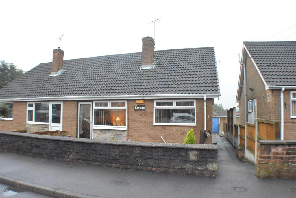 2 Bedrooms Semi Detached Bungalow for sale in Woodhall Close, Mansfield