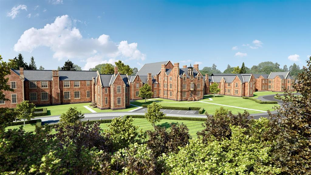 3 Bedrooms Apartment Flat for sale in Apartment 274, Central Hall, Leighton Park, Shrewsbury