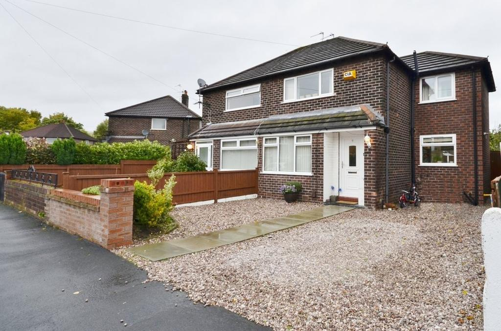 3 Bedrooms Semi Detached House for sale in Newton Road, Altrincham