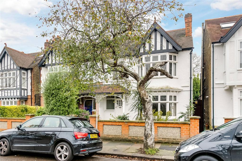 4 Bedrooms Semi Detached House for sale in Madrid Road, Barnes, London