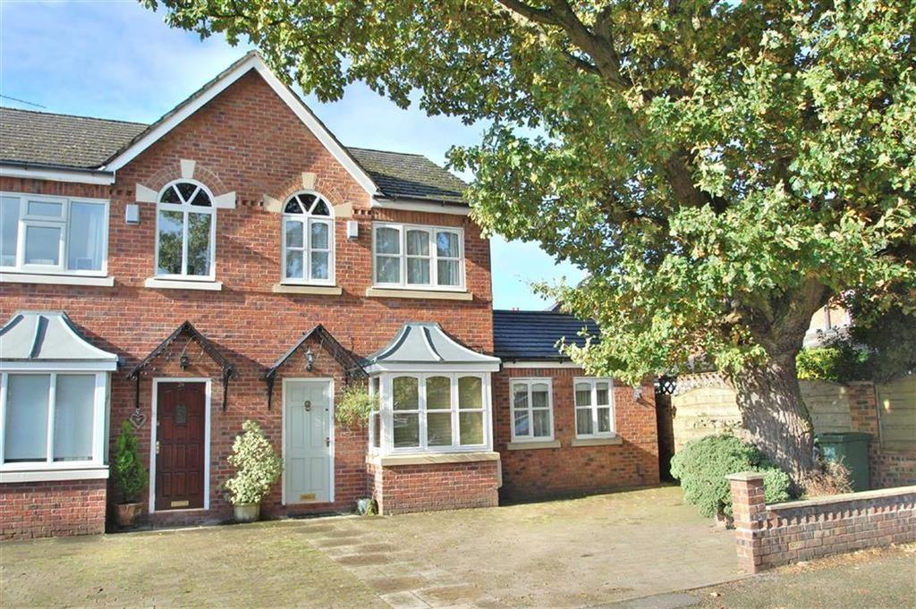 2 Bedrooms Semi Detached House for sale in Buckingham Road, Wilmslow, Cheshire