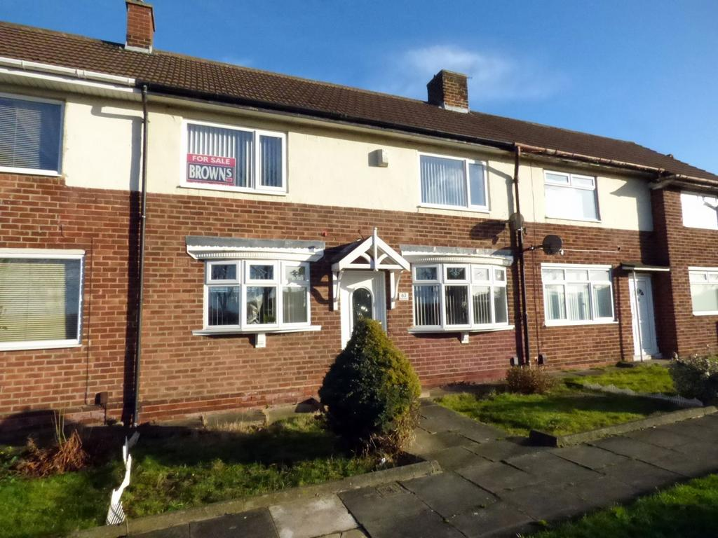 2 Bedrooms Terraced House for sale in Renvyle Avenue, Stockton-On-Tees, TS19