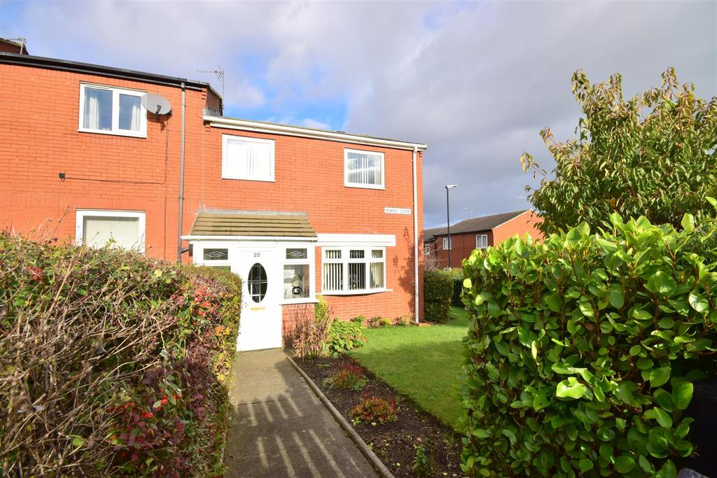 3 Bedrooms End Of Terrace House for sale in Rowell Close, Ryhope, Sunderland