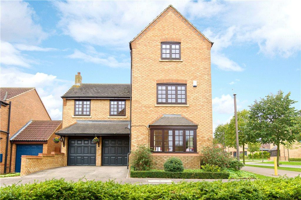 4 Bedrooms Detached House for sale in Waverley Croft, Monkston, Milton Keynes, Buckinghamshire