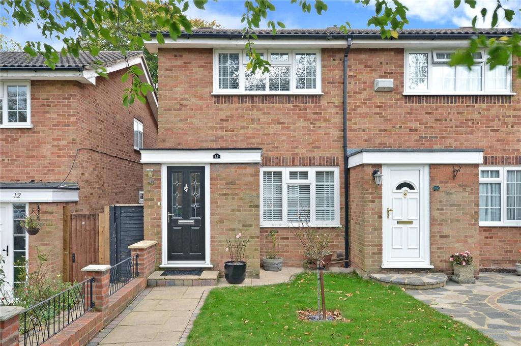 2 Bedrooms End Of Terrace House for sale in Chalcot Close, Sutton, SM2