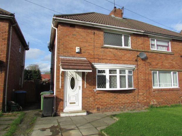 2 Bedrooms Semi Detached House for sale in CHESTNUT AVENUE, SPENNYMOOR, SPENNYMOOR DISTRICT