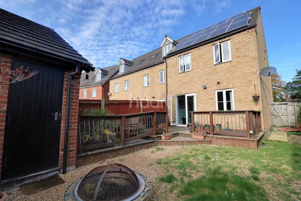 3 Bedrooms End Of Terrace House for sale in Wadsworth Court, Bedford