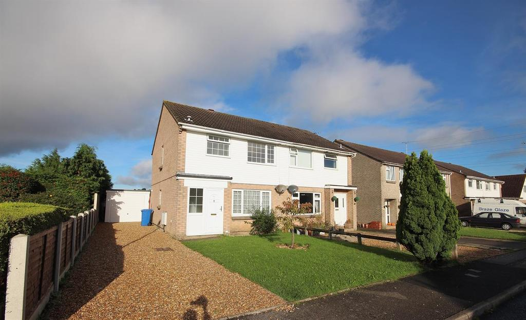 3 Bedrooms Semi Detached House for sale in Monkton Crescent, Poole