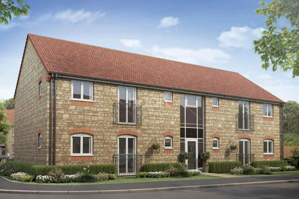 2 Bedrooms Flat for sale in Buttercross Park, Oakham