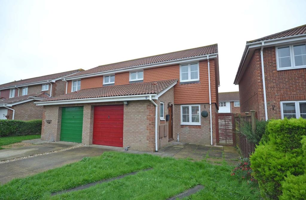 3 Bedrooms Semi Detached House for sale in Mcnair Close, Selsey, PO20