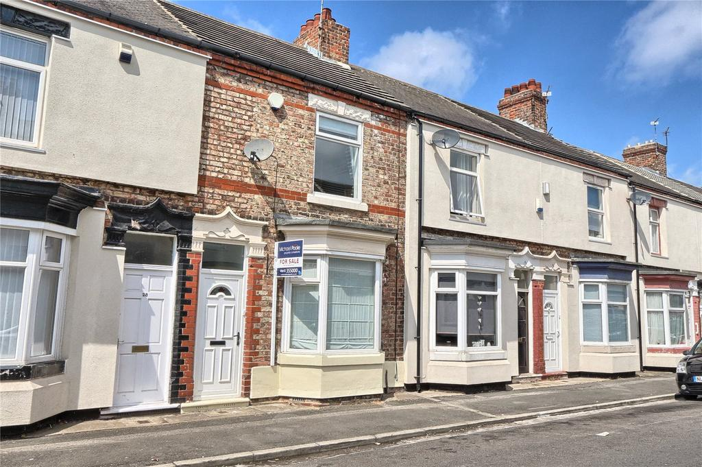 2 Bedrooms Terraced House for sale in Marlborough Road, Oxbridge