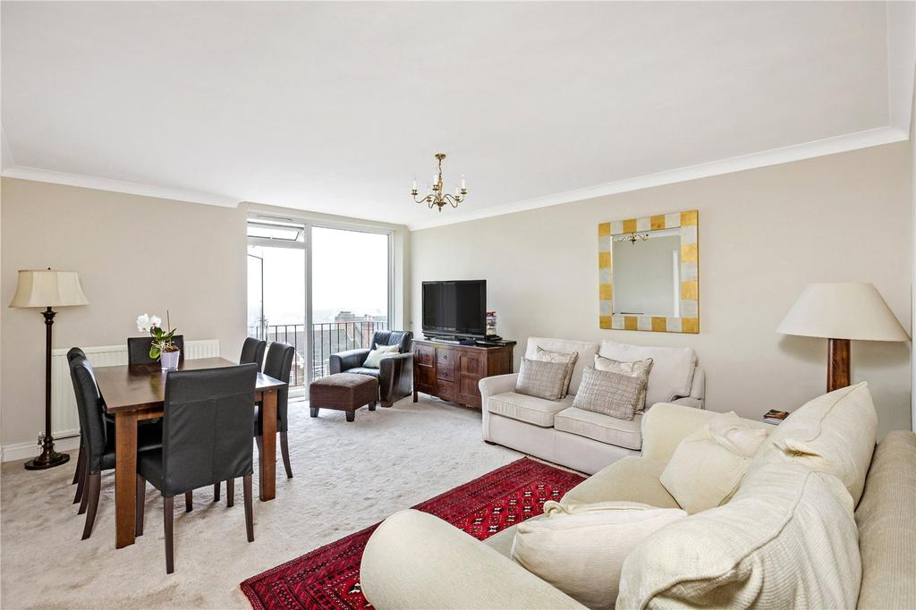2 Bedrooms Flat for sale in Priors Lodge, 56-58 Richmond Hill, Richmond, Surrey
