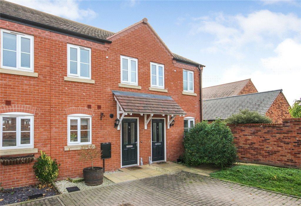 2 Bedrooms Terraced House for sale in Desjardins Way, Pershore, Worcestershire, WR10
