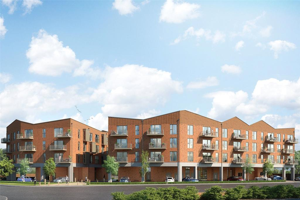 2 Bedrooms Flat for sale in Trinity Quarter, Walnut Tree Close, Guildford, Surrey, GU1