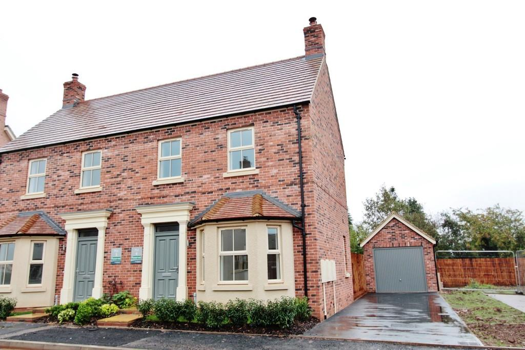 3 Bedrooms Semi Detached House for sale in Measham Road, Appleby Magna