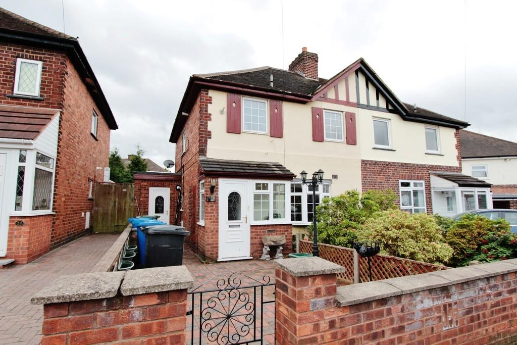 3 Bedrooms Semi Detached House for sale in Nevill Street, Tamworth
