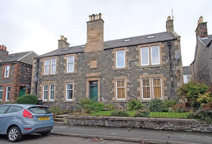 2 Bedrooms Flat for sale in 37a Rosetta Road, Peebles, EH45 8HH