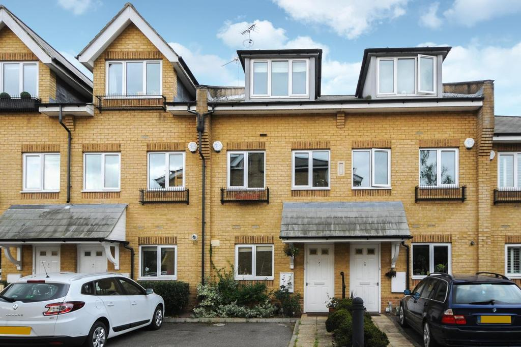 3 Bedrooms Terraced House for sale in Wells Place, Earlsfield