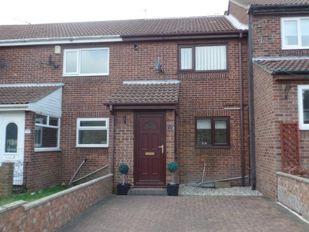 2 Bedrooms Town House for sale in HAMILTON COURT, SHOTTON, PETERLEE AREA VILLAGES
