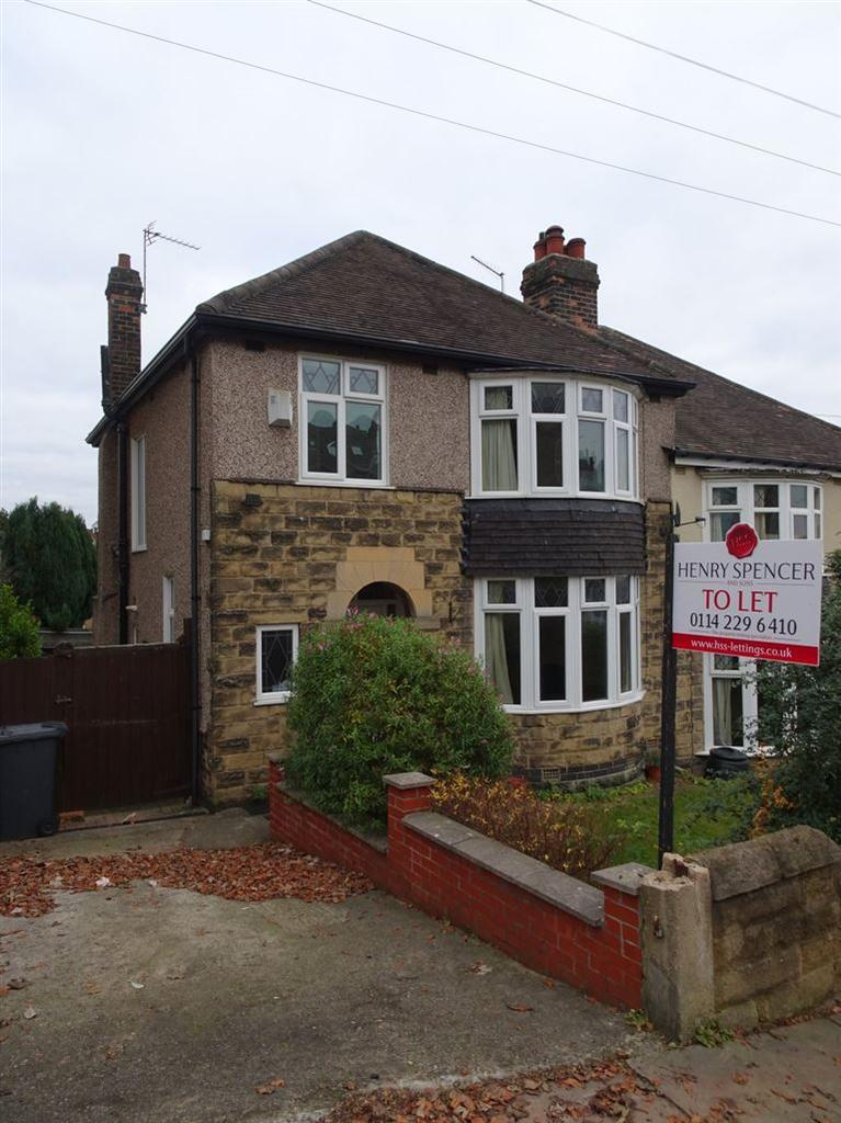 3 Bedrooms Semi Detached House for rent in Roslin Road, Sheffield, S10 1FA