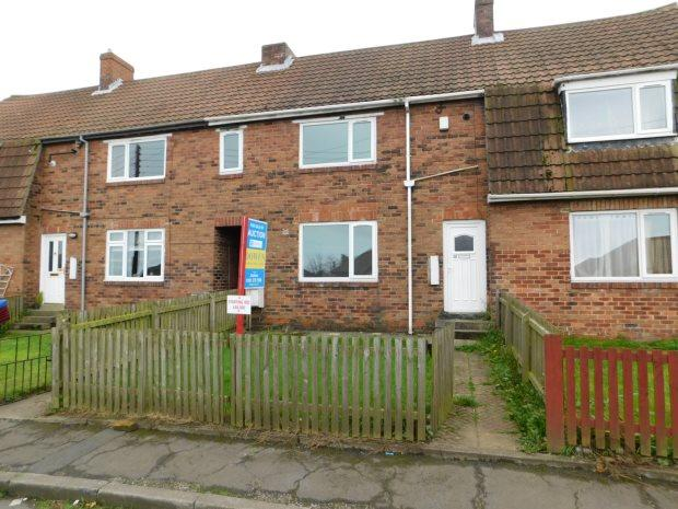 2 Bedrooms Terraced House for sale in ST BEDES CRESCENT, THORNLEY, DURHAM CITY : VILLAGES EAST OF