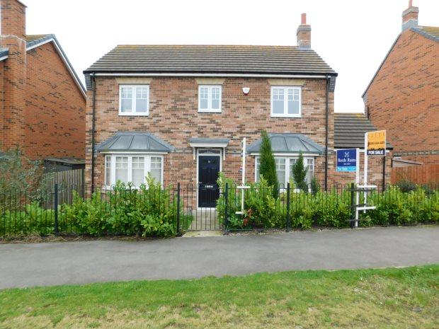 4 Bedrooms Detached House for sale in CROSSWAYS COURT, THORNLEY, DURHAM CITY : VILLAGES EAST OF