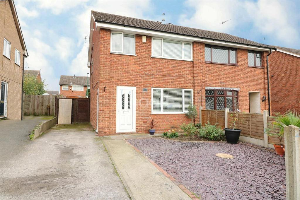 3 Bedrooms Semi Detached House for sale in Ballerat Crescent, Heron Ridge, Nottingham.