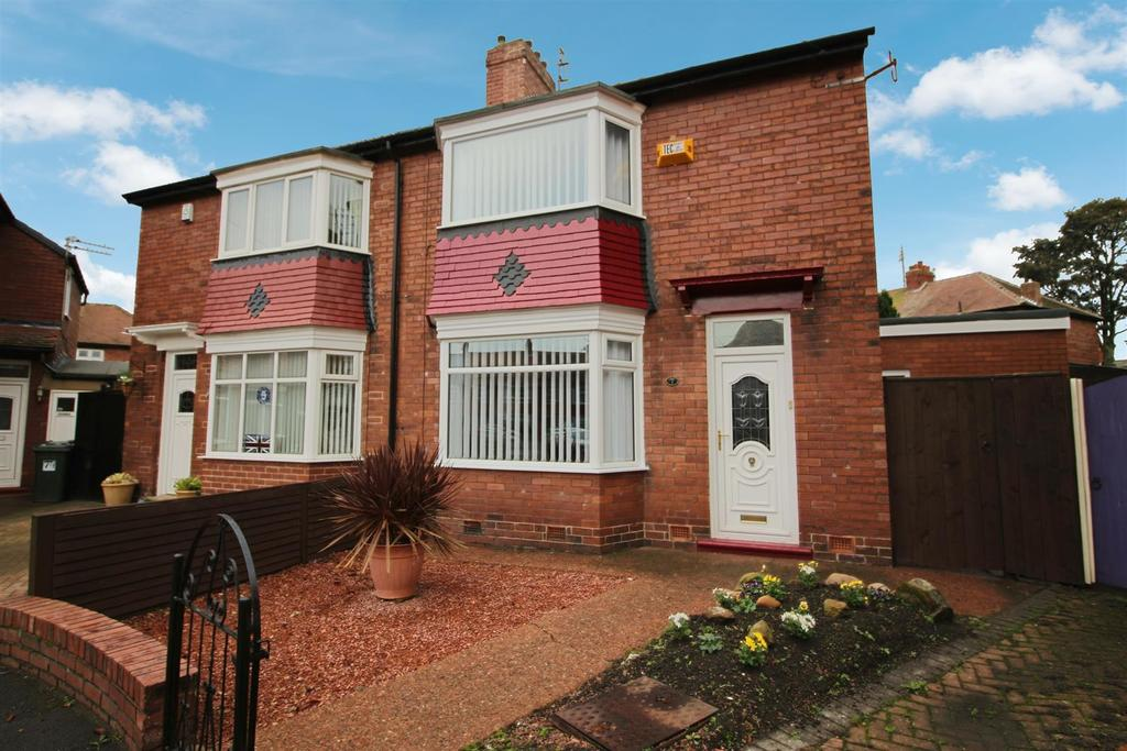 2 Bedrooms Semi Detached House for sale in Milton Place, North Shields
