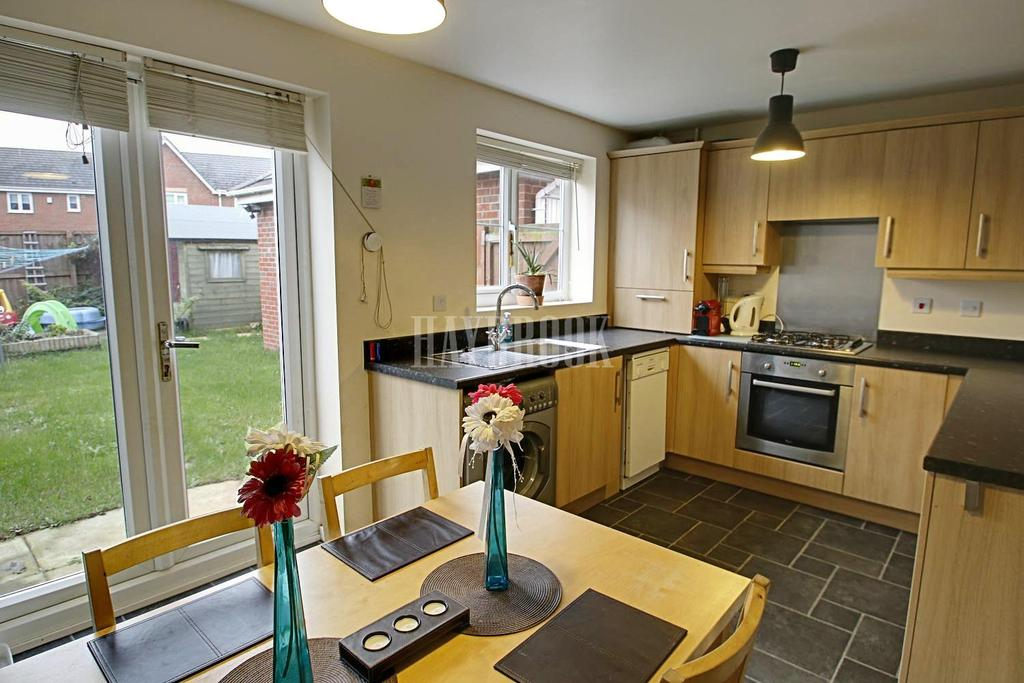 3 Bedrooms Semi Detached House for sale in Scholars Gate, Cudworth