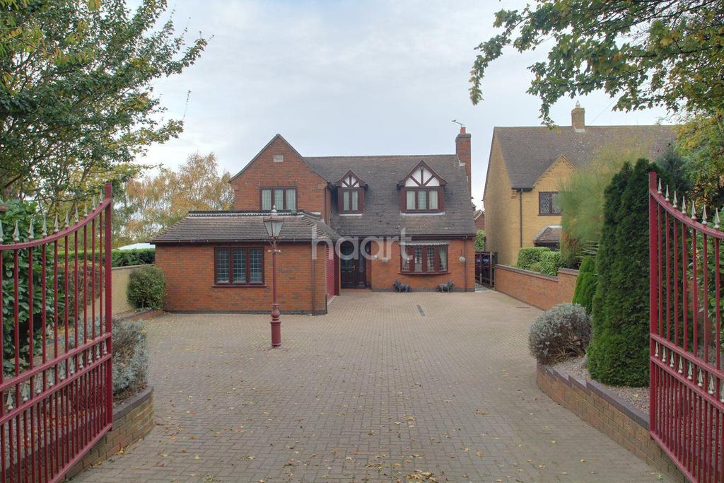 4 Bedrooms Detached House for sale in Coates Road, Eastrea, Whittlesey