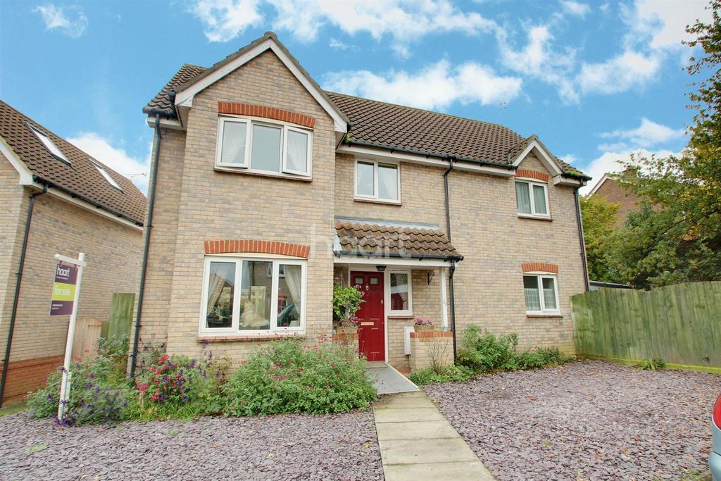 4 Bedrooms Detached House for sale in Wrights Way, Woolpit
