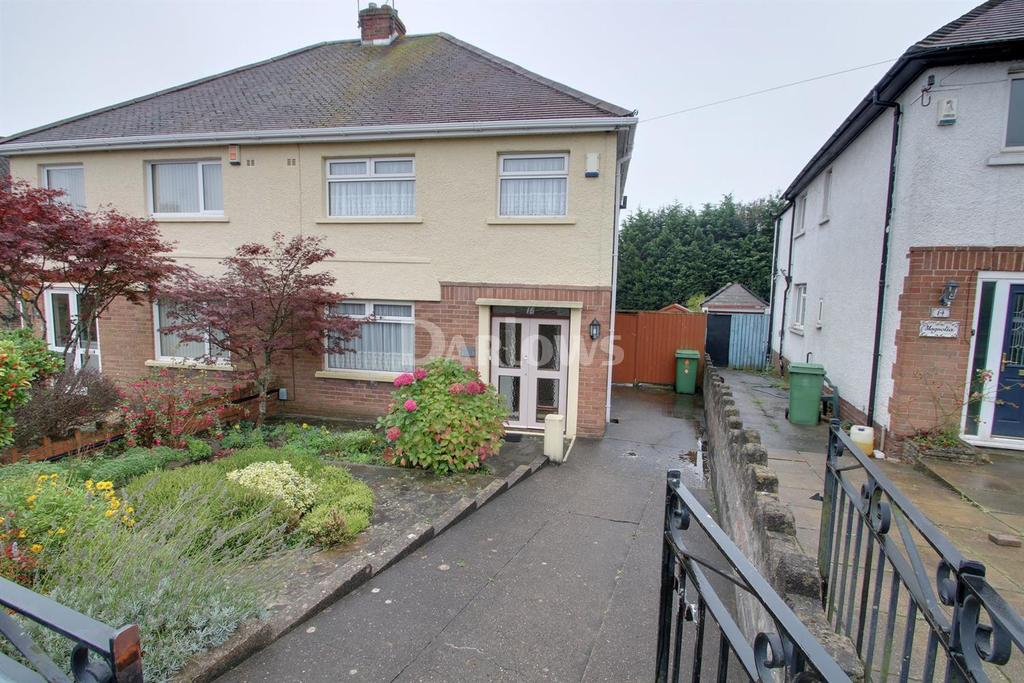 3 Bedrooms Semi Detached House for sale in Trelawney Avenue, Rumney, Cardiff