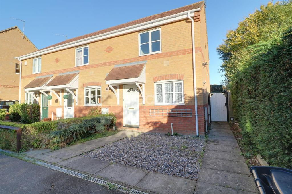 2 Bedrooms End Of Terrace House for sale in Guscott Close, Parkhill
