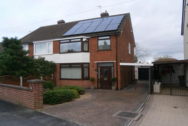 3 Bedrooms Semi Detached House for sale in Jubilee Drive, Glenfield, Leicester, LE3