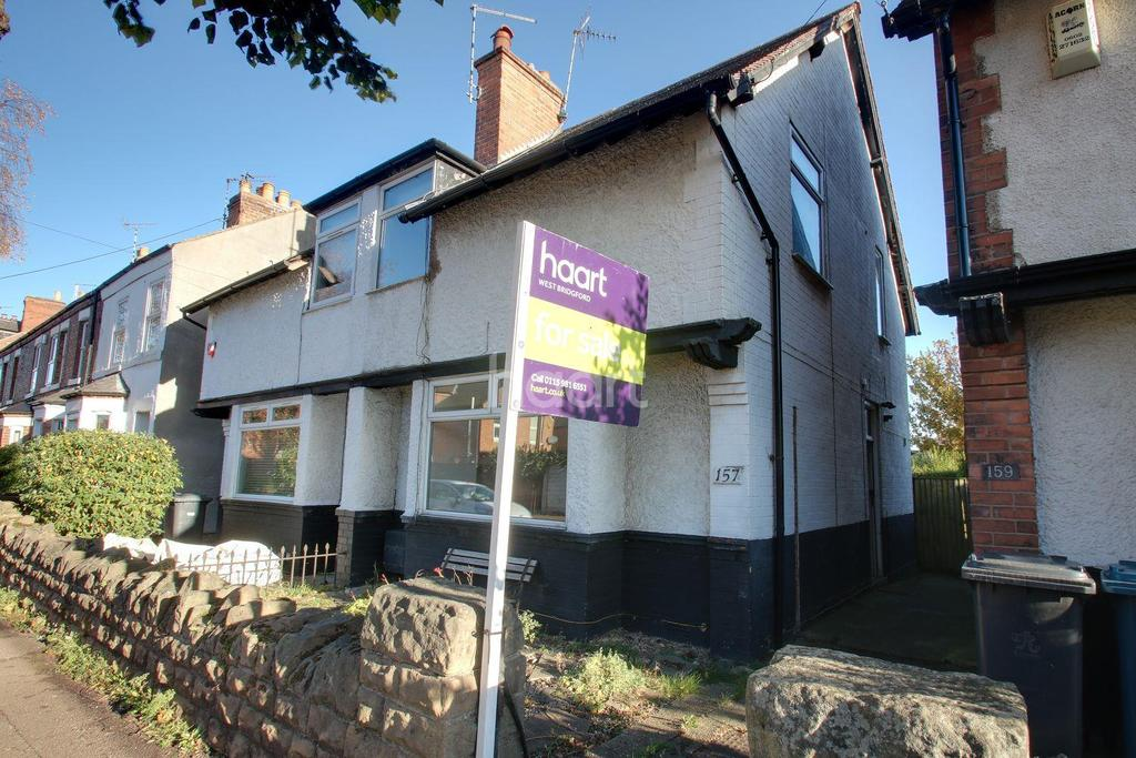 3 Bedrooms Semi Detached House for sale in Exchange Road, West Bridgford, Nottinghamshire