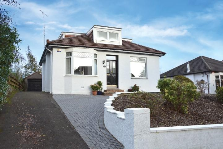 4 Bedrooms Detached Bungalow for sale in 16 Cartsbridge Road, Clarkston, G76 8DH