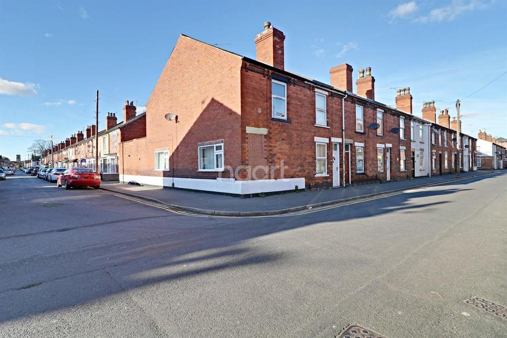2 Bedrooms End Of Terrace House for sale in St Andrews Street, Lincoln