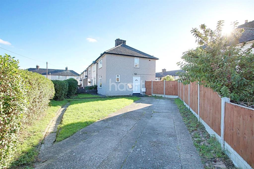 2 Bedrooms End Of Terrace House for sale in Rosedale Gardens, Dagenham